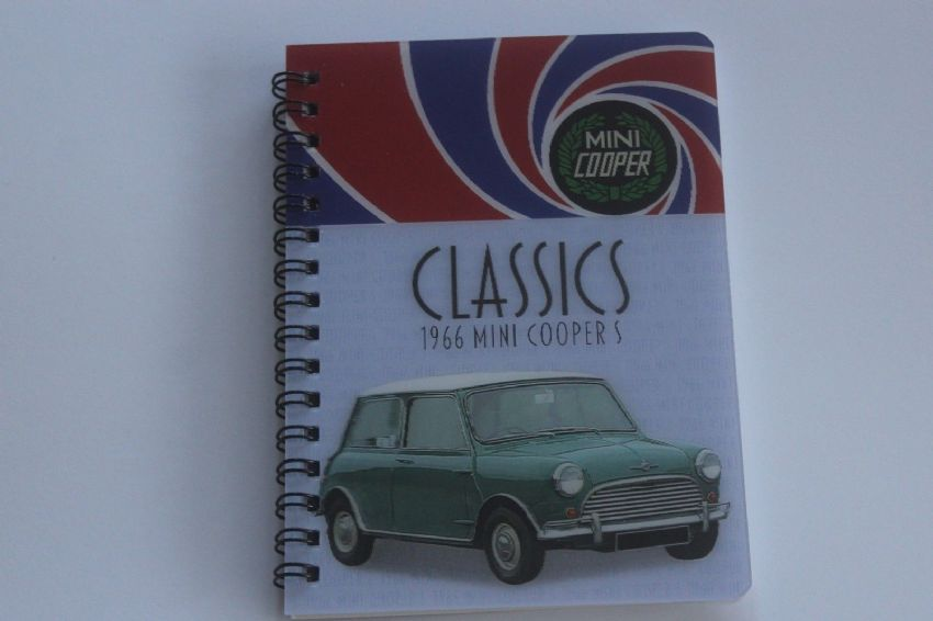 Mini Cooper S 3D picture on a Notebook
